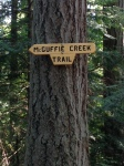 McGuffie Creek Sign