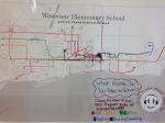 Westview School Active Transit Map