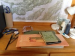 The Artist's Cabin desk